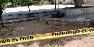 Asesinan a un hombre en parque de Acapulco