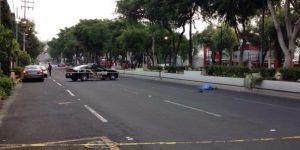 Atropellan a hombre en Calzada de Guadalupe