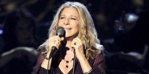 """Trump me está haciendo ganar peso"": Barbra Streisand"