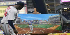 David Ortiz recibe homenaje en su adiós al Yankee Stadium