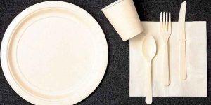 Francia prohíbe el uso de platos, vasos y cubiertos de plástico