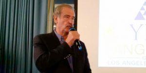 Vicente Fox critica a Trump en España