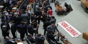 Expulsan de la cámara de diputados al impulsor del juicio político contra Dilma