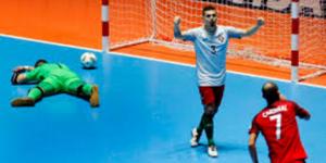 Video: gol de Portugal silencia un estadio de futbol sala