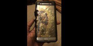 Explosión de Galaxy Note 7 manda a niño al hospital