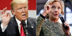 Trump gana a Clinton por dos puntos: Bloomberg