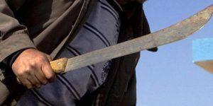 Hombre mata a su vecino con machete porque asaltó su casa