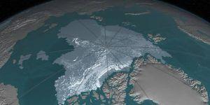 Video: la pérdida de hielo en el Ártico durante 32 años