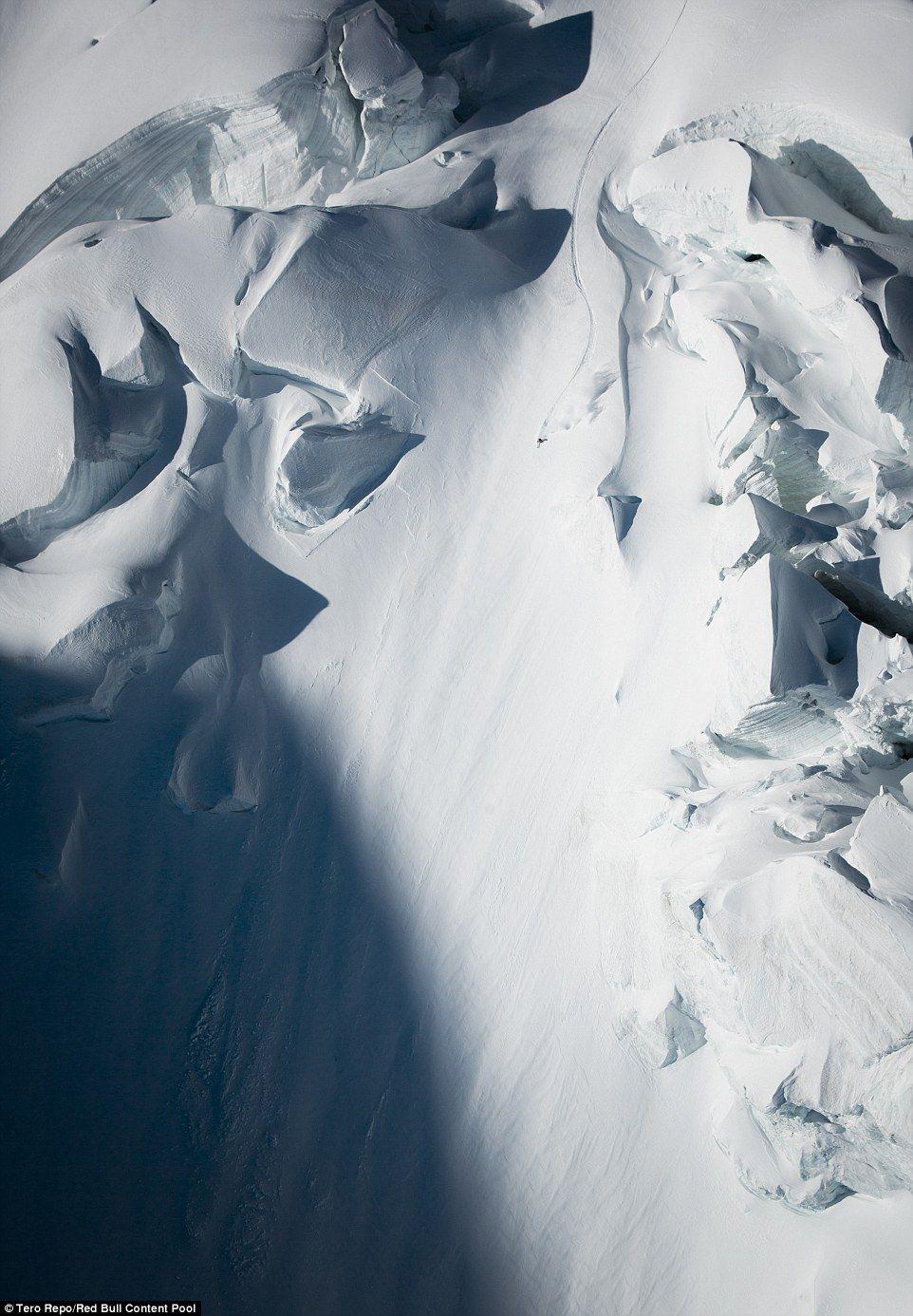 Heitz es un experimentado esquiador, empezó en esta disciplina desde que era pequeño. Foto de Red Bull Content Pool