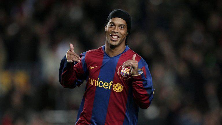 Ronaldinho fue un astro azulgrana. Foto de Fox Sports