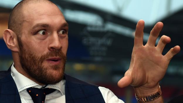 Tyson Fury. Foto de BBC