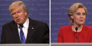 Alec Baldwin interpreta a Donald Trump en sketch