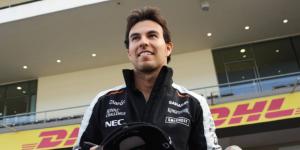 'Checo' Pérez termina cuarto en las primeras prácticas