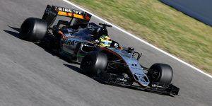 'Checo' Pérez arrancará sexto en GP de Malasia