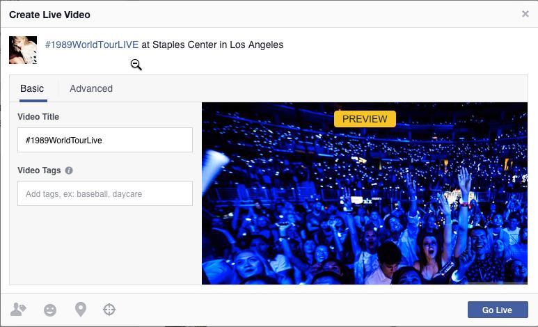 Permite Facebook programar transmisiones en vivo