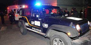 Reciben a balazos a policías luego de atender llamada de emergencia en la GAM