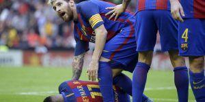 Rídicula y poco ejemplar actitud de jugadores del Barcelona: RFEF