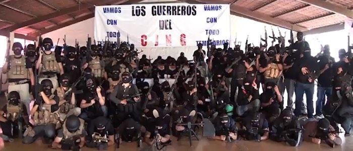 Miembros del CJNG. Foto de Borderland Beat