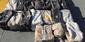 Decomisan una tonelada de cocaína en Guerrero