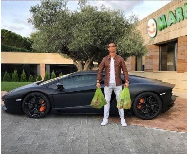 cristiano ronaldo auto 2