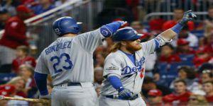 Dodgers se lleva el primero de la serie ante Washington