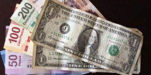 Dólar cierra jornada hasta en 19.11 pesos a la venta