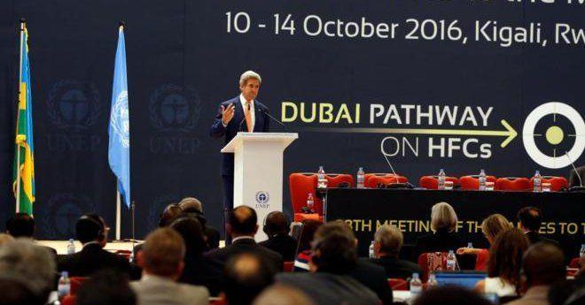 John Kerry dijo que era una gran victoria para la Tierra. Foto de Internet