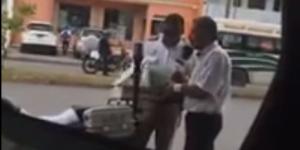 Video: la extorsión de un policía de Cancún