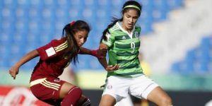 Venezuela elimina 2-1 al Tri femenil del Mundial Sub 17