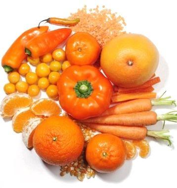 frutas amarillas benefician a los ojos y la piel foto de internet