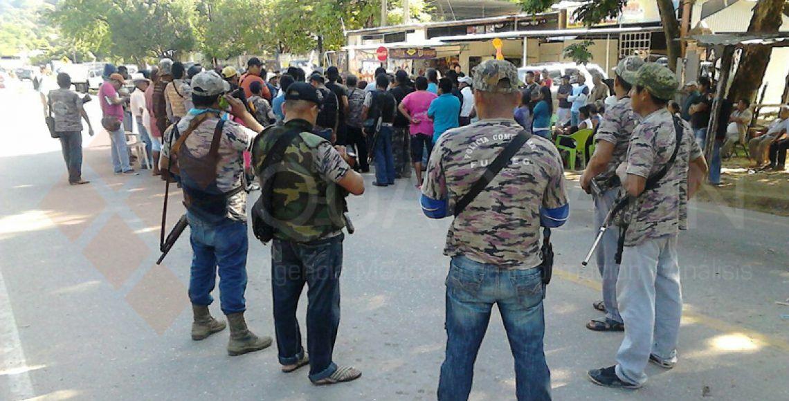 Enfrentamiento entre policías comunitarios de Guerrero deja seis muertos