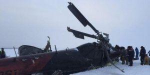 Accidente de helicóptero deja 19 muertos en Rusia