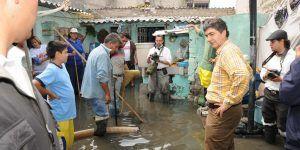 En riesgo de inundación 48 colonias en la Ciudad de México