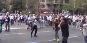 Liberan a seguidores del Legia Varsovia que causaron disturbios en Madrid