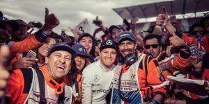 Nico Rosberg manda mensaje a fanáticos mexicanos en Twitter