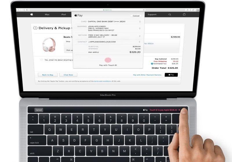 Filtran fotos del nuevo MacBook Pro con pantalla táctil