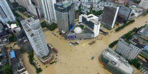 Suman 13 muertos y 20 desaparecidos tras tifón en China