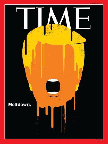 La portada del 22 de agosto. Foto de Times
