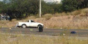 Volcadura deja 2 muertos y 5 heridos en Aguascalientes
