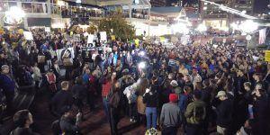 Miles vuelven a protestar contra Trump