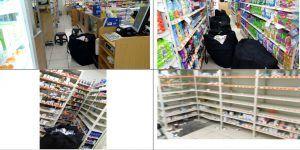 Video: policías detienen a presuntos asaltantes de farmacia