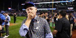 Video: la reacción de Bill Murray tras la victoria de los Cachorros