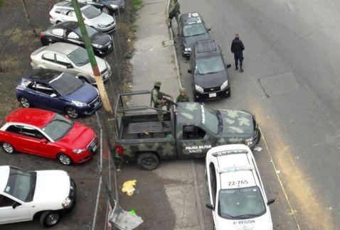 Hallan cabeza humana con mensaje en la México-Texcoco