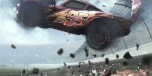 Rayo McQueen sufre accidente en teaser de 'Cars 3'