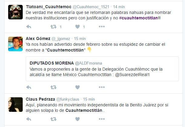 Piden que la capital de la Ciudad de México sea Cuauhtemoctitlán