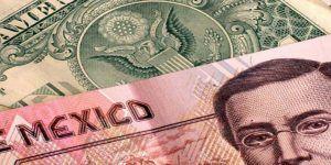 Dólar cierra jornada hasta en 19.92 pesos a la venta