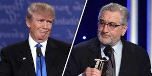 Robert De Niro llama 'demente' a Donald Trump