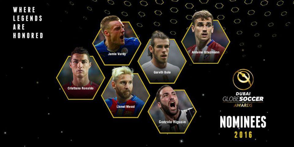 Cristiano, Bale, Griezmann y Messi, entre nominados a premios Globe Soccer