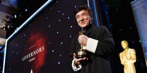 Otorgan Oscar honorario a Jackie Chan