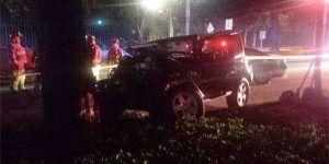 Conductor muere tras impactarse contra un árbol en Reforma